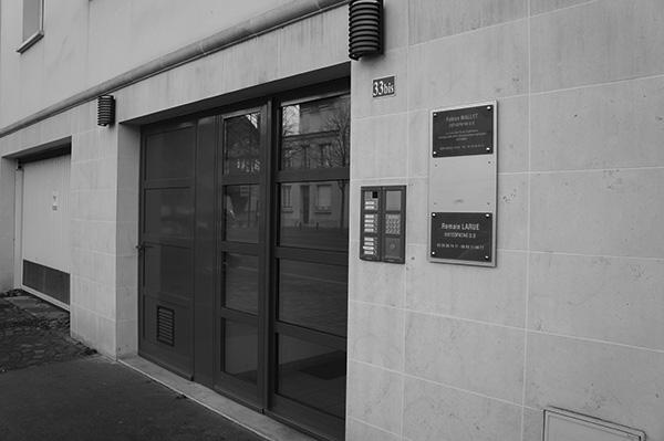 Accès au cabinet d'osteopathie de Reims
